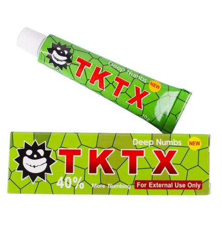 TKTX - bedövning med lidocaine